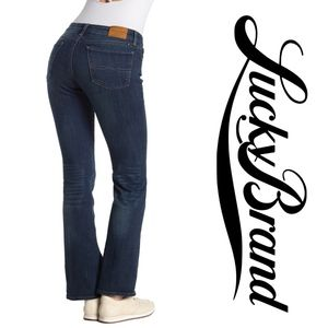 """LUCKY BRAND   """"Sweet Boot"""" Mid Rise Jeans"""